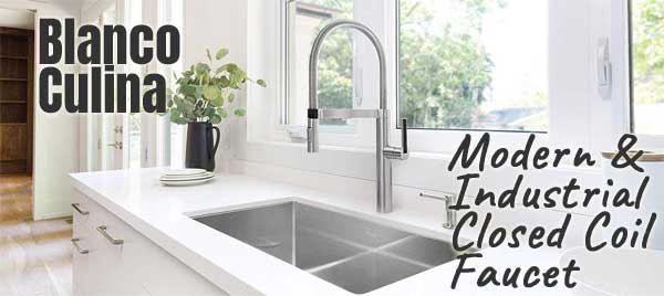 Blanco Culina Kitchen Faucet with Modern, Industrial Style