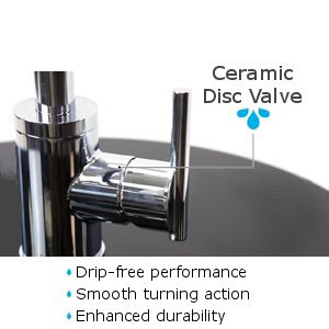 Danze Parma Faucet Ceramic Disc Valve Benefits