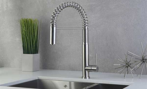 Review Of Dax Kitchen Faucets Spring Pull Down Faucet